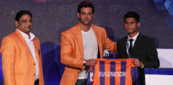 Indian Footballers Auction and Draft for ISL 2015
