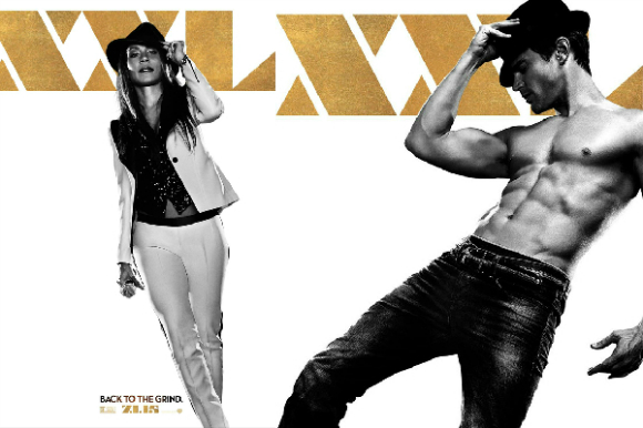 Even Bebo had to succumb to the playful tease and irresistible charm of Channing Tatum, the star of Magic Mike XXL (2015)!