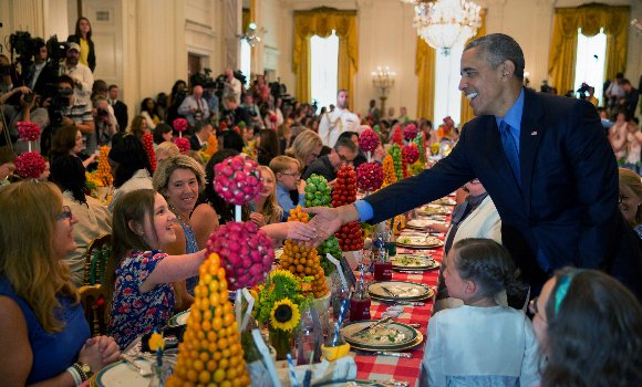 A nine-year-old Desi American chef has brought a taste of India to the White House!