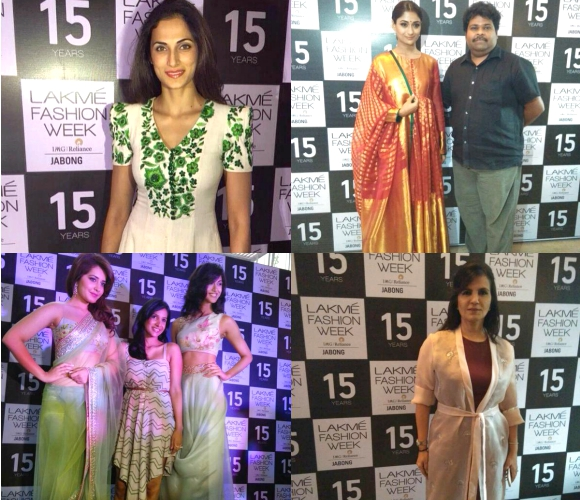 Designers at Lakmé Fashion Week Winter/Festive 2015
