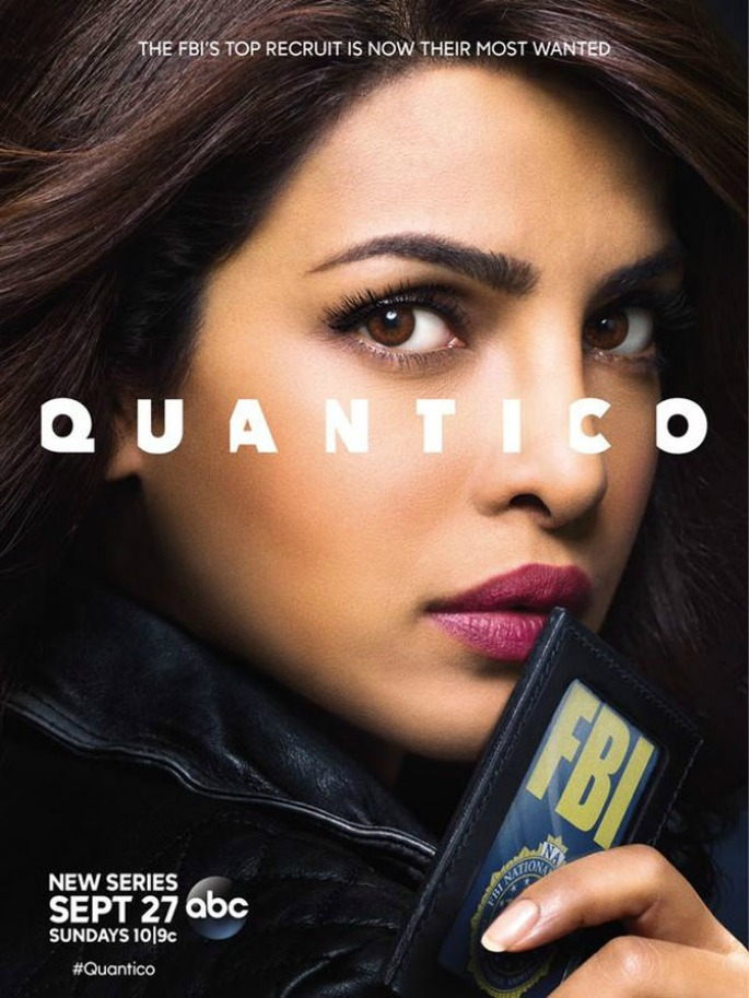 Priyanka Chopra seduces in Quantico Poster