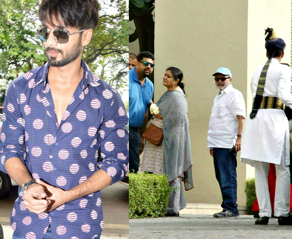 Shahid Kapoor Invitation