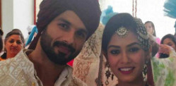 Shahid Kapoor marries Mira Rajput
