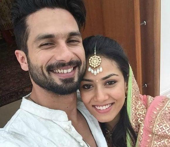 Shahid and Mira Selfie