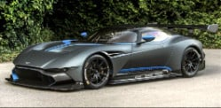 Aston Martin Vulcan Roars at Goodwood Festival