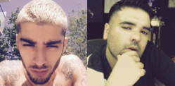 Zayn Malik hits out at Naughty Boy on Twitter?