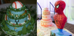 10 Unusual Wedding Cake Designs