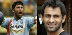 Shoaib Malik challenges Yuvraj Singh in Dance-Off