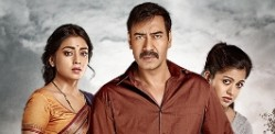 Ajay Devgn and Tabu thrill in Drishyam
