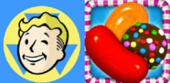 Fallout Shelter vs Candy Crush Saga