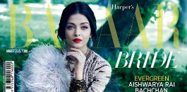 Aishwarya Rai covers Harper's Bazaar Bridal edition
