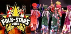 Best Live Bhangra Teams compete at Folk Stars