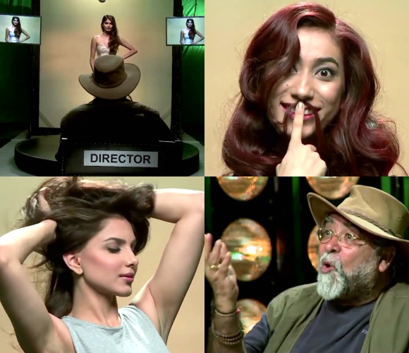 India's Next Top Model in TV Commercial Challenge