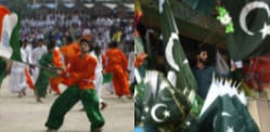 Independence Day celebrated by India and Pakistan