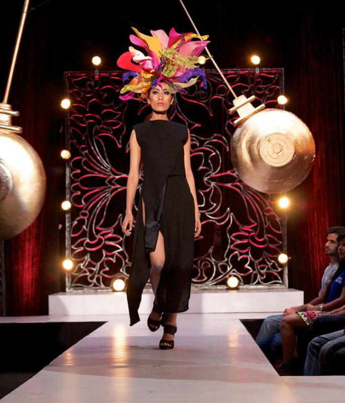 India's Next Top Model in shocking Catwalk twist