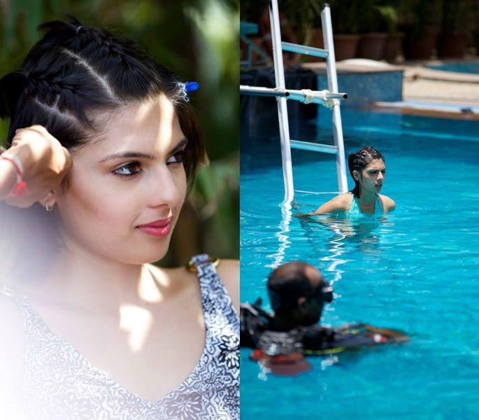 India's Next Top Model enjoys Lingerie Shoot