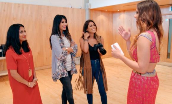 Desi Rascals Jo Shah Jasmin Walia Rita Siddiqui Shreena Vara Bollywood audition