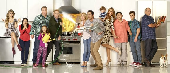 The rest of the list is dominated by sitcom actors, mainly from ABC's Emmy award-winning Modern Family.