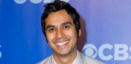 Kunal Nayyar enters the annual Forbes list at number three, with an estimated annual earnings of US$20m (£13m)!