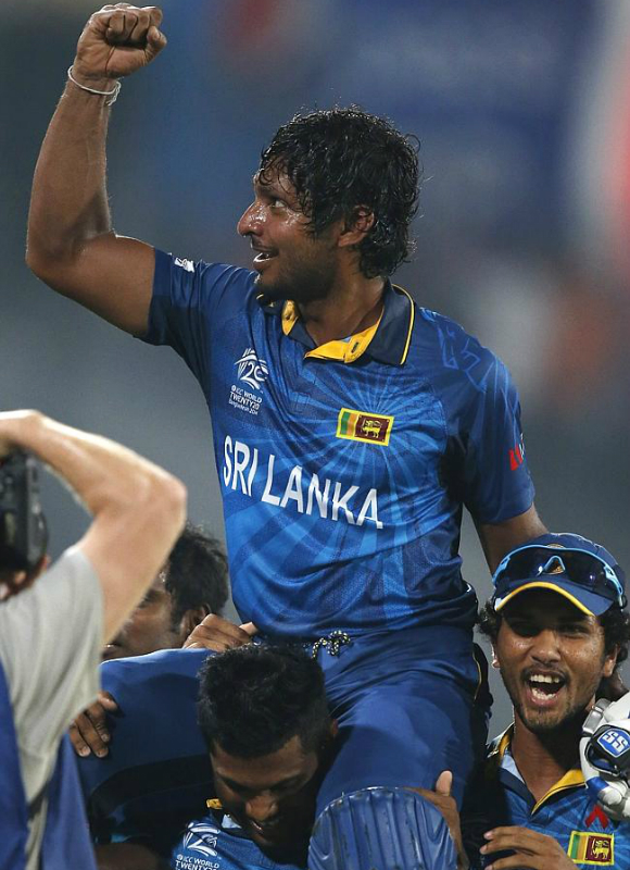 Kumar Sangakkara bids farewell to cricket.