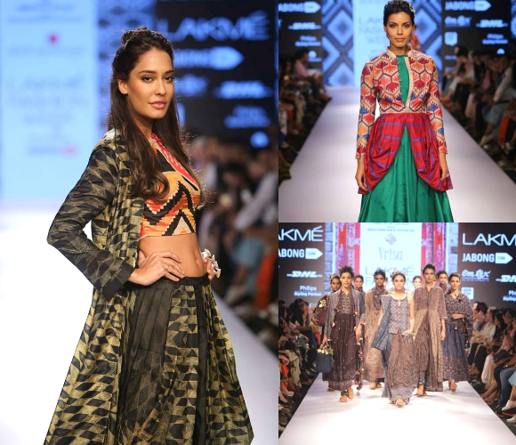 Lisa Haydon struts on Day Two of Lakmé