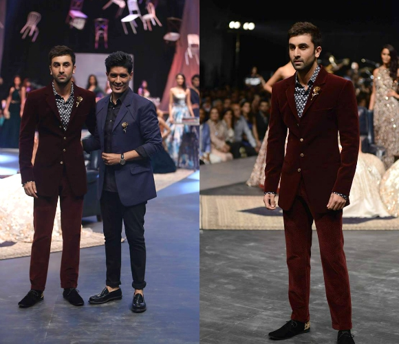 Ranbir Kapoor walks for Malhotra at LWF