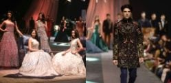 Ranbir Kapoor models for Manish Malhotra at Lakmé