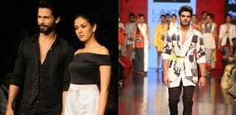 Shahid and Mira Kapoor dazzle at Lakmé