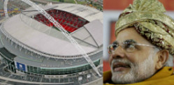 UK welcomes Narendra Modi at Wembley Stadium?