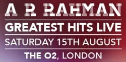 Win Tickets to see A. R. Rahman at The O2