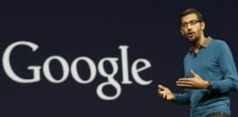 In a surprise announcement on August 10, 2015, Google named Indian-born Sundar Pichai as the new CEO.