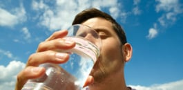 A new study reveals how drinking a pint of water before mealtimes can significantly help you lose weight.
