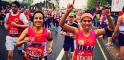 Kiran Gandhi runs Marathon without a Tampon