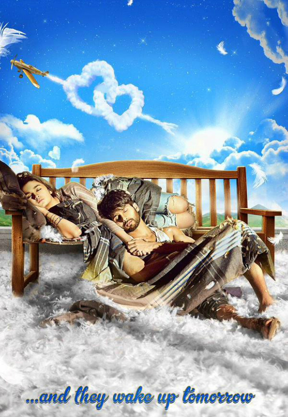 Alia Bhatt and Shahid Kapoor are all loved up in the first look poster for their new film, Shaandaar (2015)!