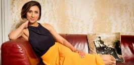 After trekking through mud and rivers in British countryside, Anita Rani is ready to swap her wellies for sexy heels in Strictly Come Dancing 2015.