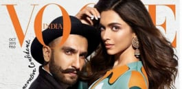 Beauty queen Deepika Padukone, and heartthrob Ranveer Singh pose intimately for the October issue of the magazine, adding fire to those dating rumours.
