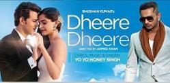 Yo Yo Honey Singh brings back 'Dheere Dheere'