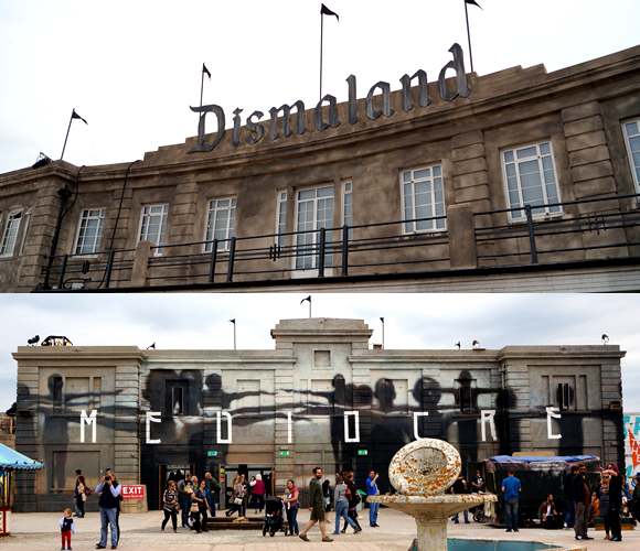 Art and Anarchy at Banksy's Dismaland