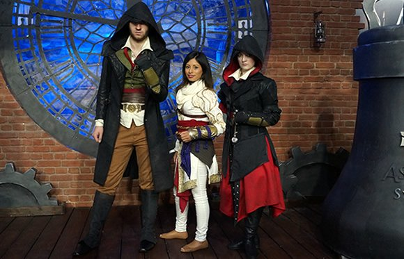 Cosplay at EGX 2015 - Assassins Creed