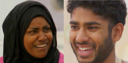 Tamal and Nadiya enter Great British Bake Off final