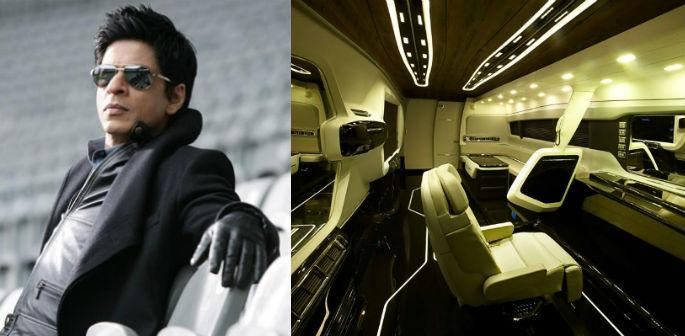 Inside Shahrukh Khan's Rs 4 Crore Bus