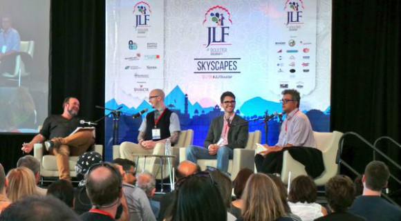 ZEE Jaipur Literature Festival (JLF) has taken the US by storm.