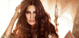 Phantom (2015) star, Katrina Kaif, looks fashionably fierce on the cover of Vogue India's September issue, embracing a stylish and tribal look. Read more at: http://tr.im/tuTmb