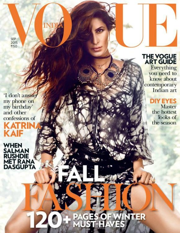 Katrina Kaif is fierce for Vogue India cover