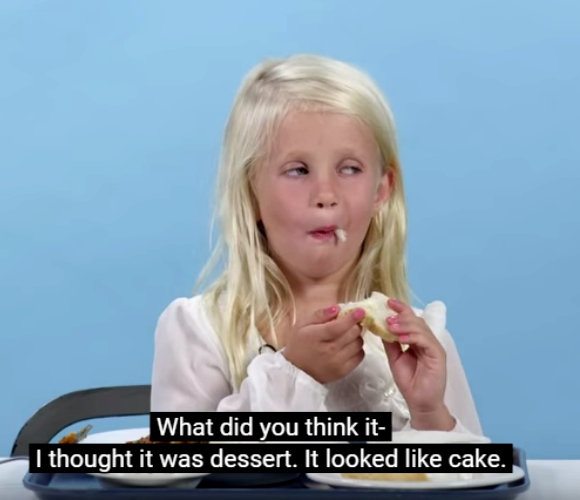 American kids try lunches from around the world