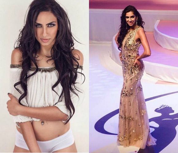 Indo-Canadian fitness beauty, Mina Khtaria, heads to India to audition for Miss Diva 2015