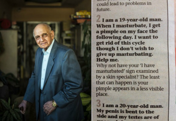 Mahinder Watsa is an Indian sexologist or 'sexpert' offering knowledge and advice in his Mumbai Mirror column.
