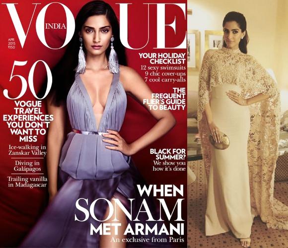 Sonam Kapoor goes Gothic for Harper's Bazaar