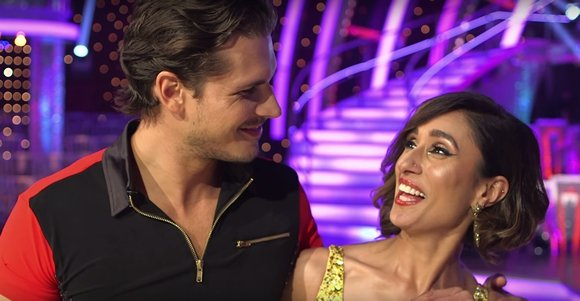 Anita Rani really Happy with Gleb in Strictly