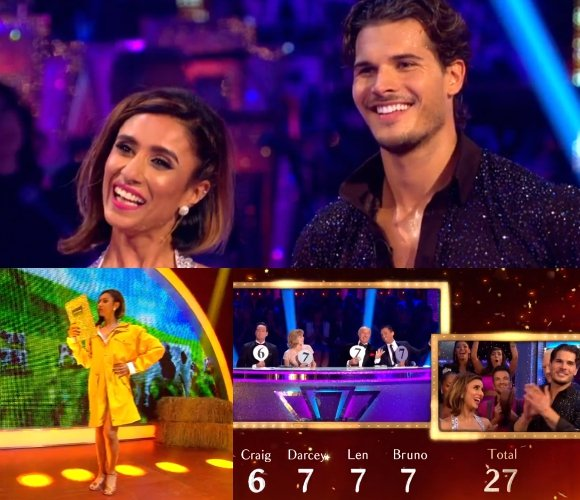 The elaborate live episode kicked off with a group performance from the dancers, including BBC One's very own Anita Rani.